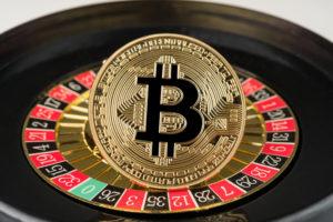 Bitcoin BTC Roulette Wheel