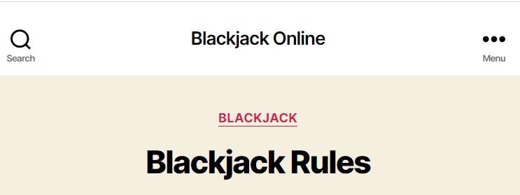 Blackjack Online Mobile Games